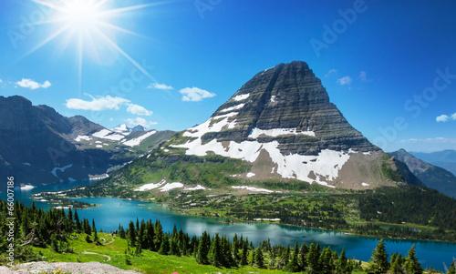 Valokuva  Hike in Glacier Park