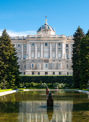 Royal Palace, Sabatini garden