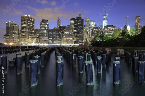 Foto op Aluminium New York Manhattan, New York
