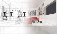 Appartamento, Rendering 3d Pro...