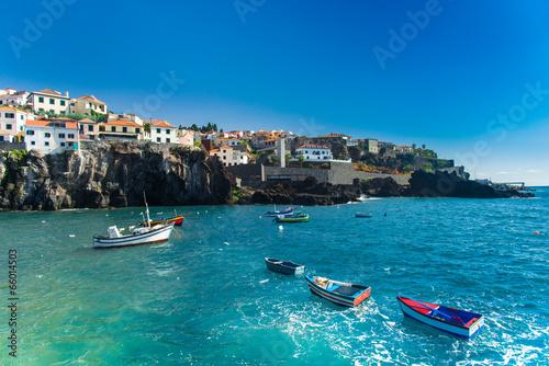 Fotografie, Obraz  Fishermen's village