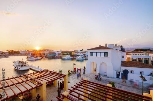 Garden Poster Cyprus Limassol Marina, Cyprus