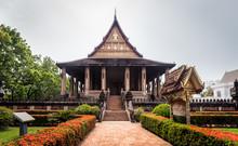 Haw Phra Kaew, Vientiane, Laos.