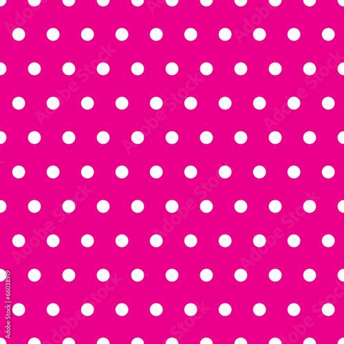 Pinkes Pünktchenmuster nahtlos wiederholbar / fortsetzbar