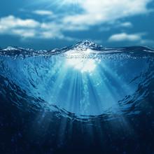 Underwater World, Abstract Mar...