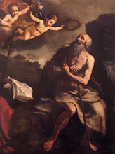 Bologna - Paint Of St. Jerome  By Ludovico Carracci