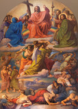 Vienna - Last judgment scene - Altlerchenfelder church