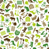 farm seamless pattern