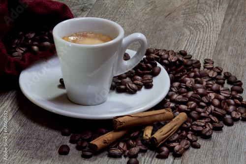 Deurstickers koffiebar caffè