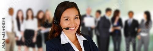 Fotografie, Obraz  Customer Service