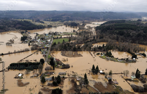 Cuadros en Lienzo Washington State Flood