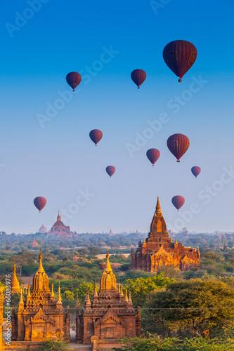 Cuadros en Lienzo temples in Bagan, Myanmar