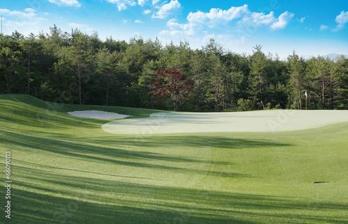 Poster Golf 골프장 풍경