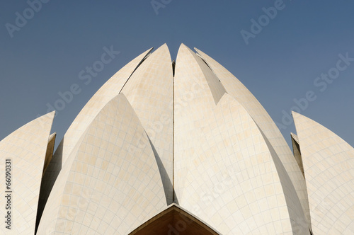 Deurstickers Delhi Delhi, Lotus temple