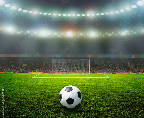 Fototapety, obrazy: On the stadium.