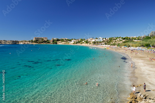 Foto op Canvas Cyprus Coral Bay Beach - Chypre