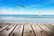 navegando por el mar tranquilo