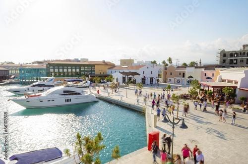 Fotobehang Cyprus Limassol Marina, Cyprus