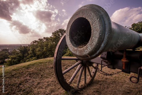 Fotografie, Tablou  Cannon at Vicksburg Battlefield