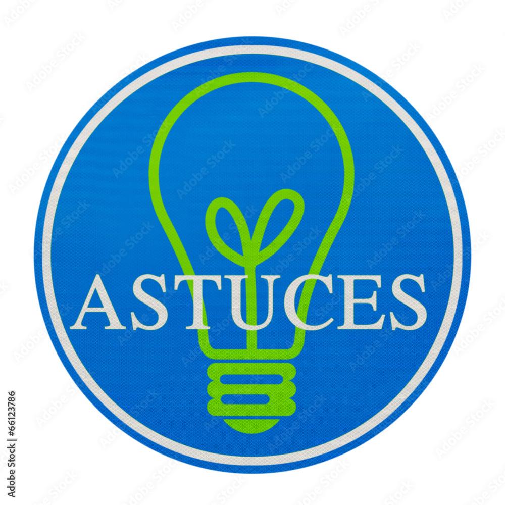 Poster  astuces, idées, créativité