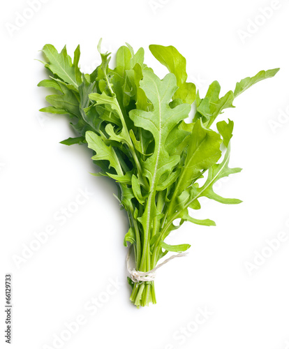 fresh arugula leaves Wallpaper Mural