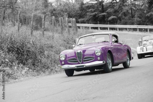 In de dag Vintage cars Classic car