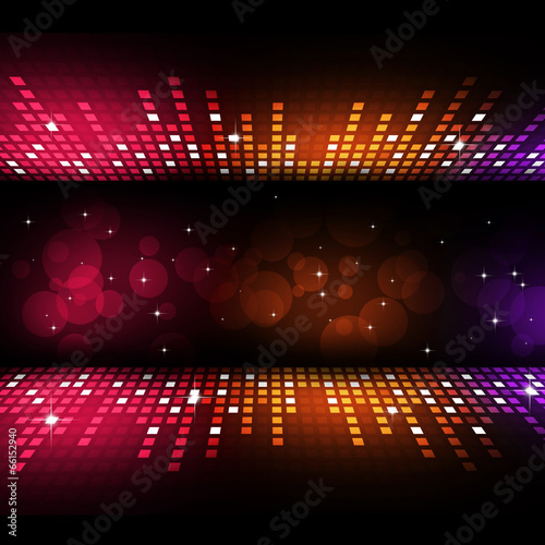 Fotografie, Obraz  Multicolor Party Background
