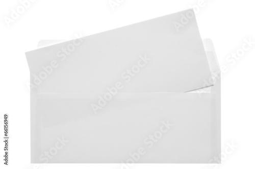 Fotomural Blank opened envelope E65 size