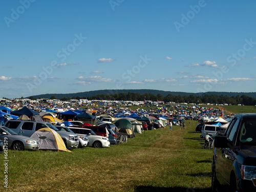 Fotografie, Obraz  Virginia Festival Camping-4