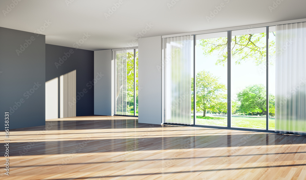 Fototapety, obrazy: Leeres Appartment