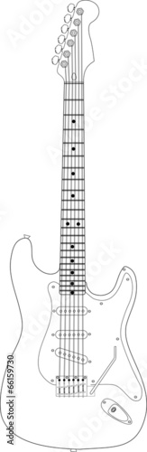 Photo stratocaster