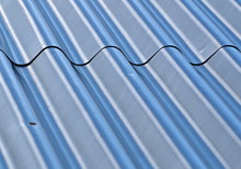 Roof With Corrugated Steel