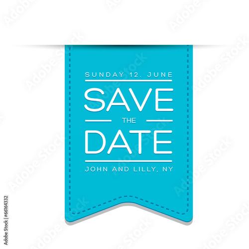 Fotografie, Obraz  save the date template vector