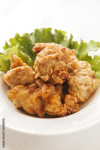 Foto op Aluminium Kip 鶏の唐揚