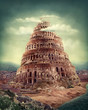 Leinwanddruck Bild - Tower of Babel