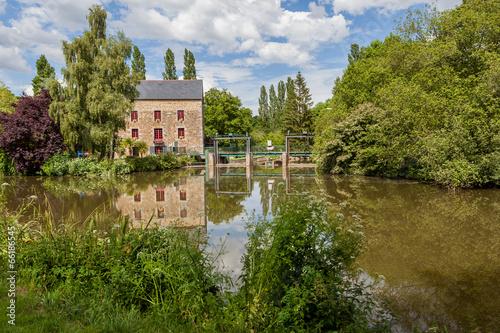 Fotografie, Tablou  Canal de la Rance