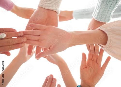 Fototapety, obrazy: Hands Together