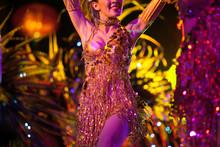 Dance Perform By Cabaret Dancer