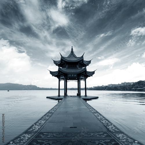 China Hangzhou West Lake Landscape Wallpaper Mural