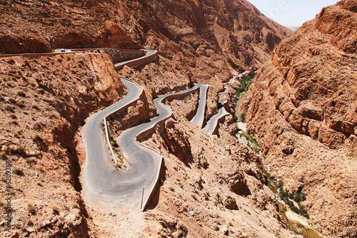 Poster Maroc Zigzag