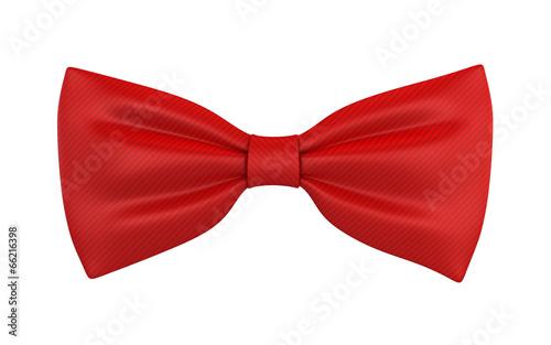 Obraz Red bow tie - fototapety do salonu