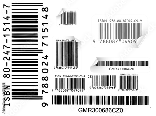 Poster barcode icons