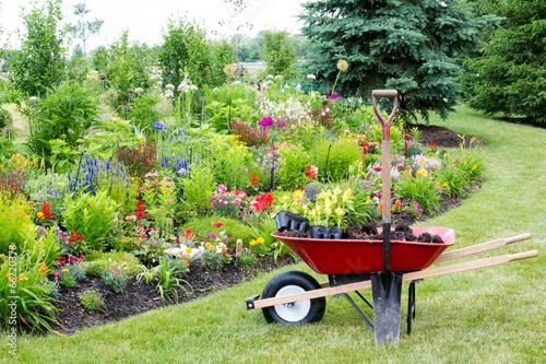 Papiers peints Jardin Landscaping the garden