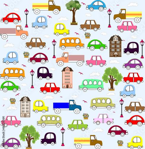baby-vehicle-pattern-design