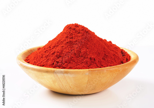Paprika powder Fotobehang