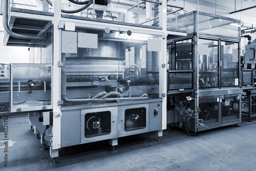 conveyor at modern factory