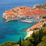 Fototapeta Fototapety z morzem do Twojej sypialni - oszałamiający widok na Dubrownik, Chorwacja