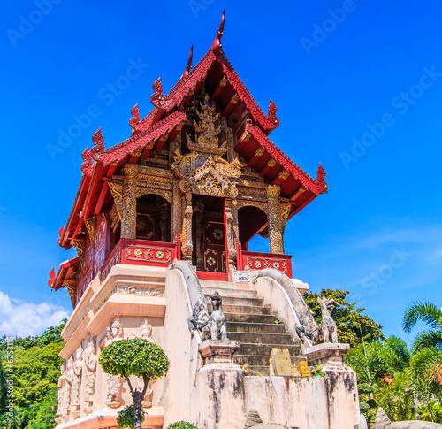 Fotobehang Tokyo Wat Phra Sing in Chiangmai province of Thailand