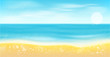 Sea and sun.Summer background.
