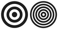 Two Simple Bullseye Targets